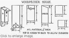 woodpecker house plans build a woodpecker house