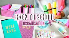 Back To School Diy Organisation Essentiels