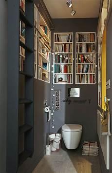 Des Livres Partout Wc En 2019 Deco Wc Toilettes Et