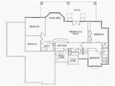 rambler house plans with walkout basement rambler house plans with finished basement by eplans