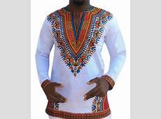 2019 African Style Mens Long Sleeve T Shirt Africa Dashiki
