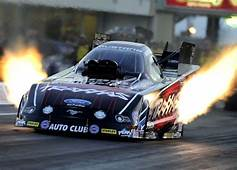 COURTNEY FORCE  FLAMES NHRA FUNNY CAR DRAG RACE RACING