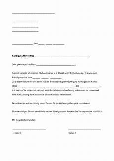 gesetzliche kündigungsfrist mietvertrag 14 k 252 ndigung wohnung muster acl exchange