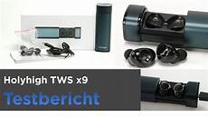 Holyhigh Bluetooth Kopfhörer - holyhigh tws x9 im test true wireless bluetooth inear