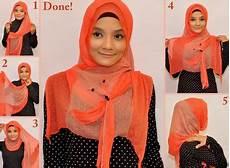 4 Cara Memakai Jilbab Modern Yang Modis Tutorial