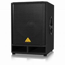 active pa subwoofer behringer eurolive vq1500d active 15 pa subwoofer box opened at gear4music