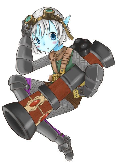 Lol Rocket Girl Tristana