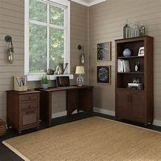 kathy ireland home office furniture kathy ireland by bush volcano dusk 3 piece office set in