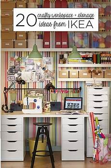 20 crafty workspace storage ideas from ikea scrap booking