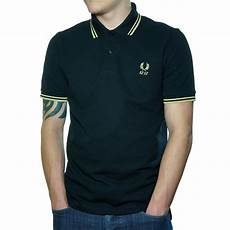 buy fred perry 60 year tipped polo shirt black fred