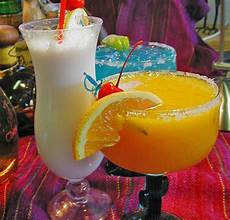 alcohol drink fruit liquor rum pina coloda shots