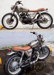 Modifikasi Thunder 125 Klasik by Modifikasi Suzuki Thunder 125 Ala Motor Klasik 70 An