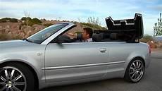 audi s4 convertible 2004 audi s4 cabriolet test viva las vegas autos youtube