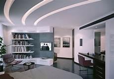Wohnzimmer Decken Ideen - abgeh 228 ngte decke beleuchtung ein trend in der