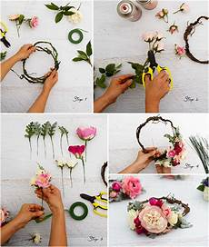 Step By Step Guide To A Floral Crown