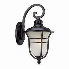 acclaim lighting montclair collection 1 light outdoor matte black wall light 3662bk the
