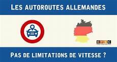 panneau vitesse illimitée allemagne limitations de vitesse en allemagne sur autoroute legipermis