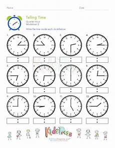 time worksheet quarter to 3155 17 best images about telling time worksheets on drawing clock faces and the smart