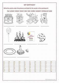 birthday object worksheet 20250 127 free esl birthdays worksheets