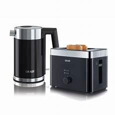 set wasserkocher toaster wk402eu und to62eu graef