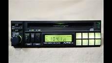 vintage alpine 7901 am fm cd player car stereo school