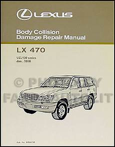 motor auto repair manual 1999 lexus lx auto manual lexus lx 470 body manual 1998 1999 2000 2001 2002 2003 2004 2005 2006 2007 lx470 ebay