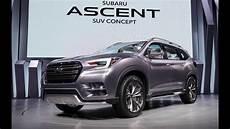 2020 subaru ascent interior release date changes 2019