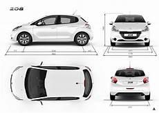 dimension coffre 208 dimensions peugeot 208 5 portes voitures disponibles