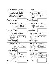 money worksheets change 2229 printable change money worksheets 2 versions money worksheets learning money
