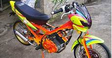 Modifikasi Satria 2 Tak Airbrush by Motor Expose Modifikasi Suzuki Satria Fu 150 Airbrush