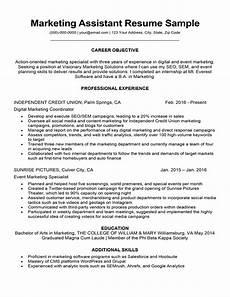 resume of marketing asistant marketing assistant resume sle tips resumecompanion