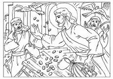 image result for jesus cleanses the temple coloring page