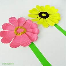 Blume Basteln Kinder - 9 flower crafts for