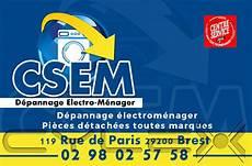 depannage electromenager brest csem centre service electrom 233 nager brest t 233 l 233 phone