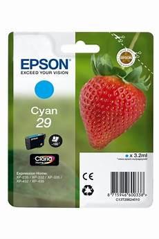 cartouche epson 29 fraise cartouches originales epson t2982 fraise pack ou unit 233
