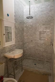 subway tile bathroom ideas marble subway tile shower offering the sense of elegance homesfeed