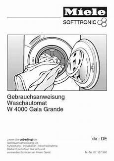 miele w 4000 gala grandewaschmaschinen deutsche