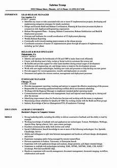 release resume sles velvet