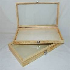 wood glass top display cases package of 2 ebay