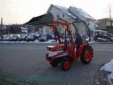 traktor mit frontlader kaufen kleintraktor allrad traktor kubota b1600 mit frontlader
