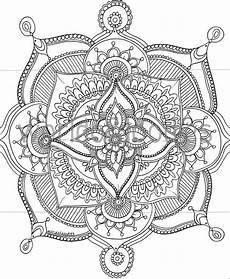 floral mandala a4 downloadable colouring page printable etsy
