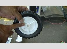 How to replace BBQ Grill Wheels   YouTube