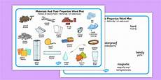 ela worksheets 15480 materials and their properties word mats translation