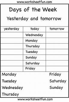 free worksheets days of the week 18254 days of the week 6 worksheets kid s printables daily routines boxes and to be