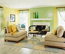 kleines zimmer wandfarbe wohnzimmer farbgestaltung gelb gr c bcn kombination mit