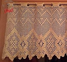 gardine geometrisch 1 vorhang filet h 228 keln kostenlose - Gardinen Häkeln Anleitung