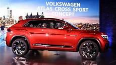 2019 volkswagen atlas cross sport concept at the 2018 new