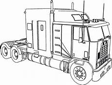 trailer truck coloring pages at getdrawings free