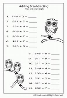 coloring pages math worksheet adding single digits to 3