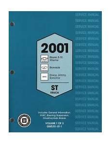 2001 chevrolet s10 blazer xtreme gmc sonoma jimmy oldsmobile bravada s t trucks factory